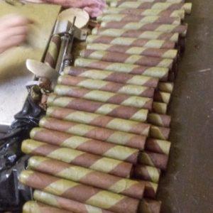 Royal Havana Cigars - Dirty Leprechaun Candela Barber Pole Cigar